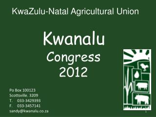 KwaZulu-Natal Agricultural Union