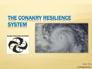 The Conakry Resilience System
