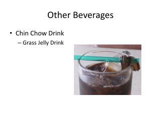 Other Beverages
