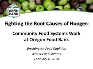 Fighting the Root Causes of Hunger:
