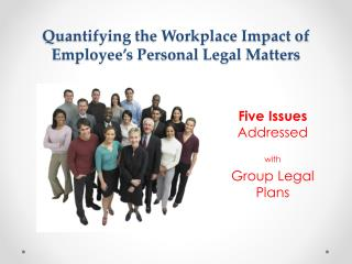Quantifying the Workplace Impact of Employee's Personal Legal Matters