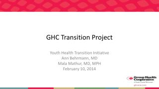 GHC Transition Project