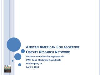African American  Collaborative Obesity  Research Network