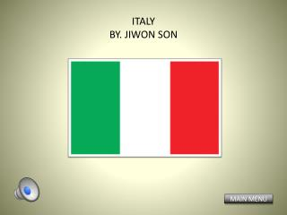ITALY BY. JIWON SON