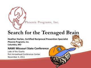 Search for the Teenaged Brain