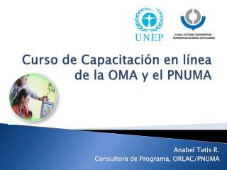 Curso de Capacitación en línea  de la OMA y el PNUMA