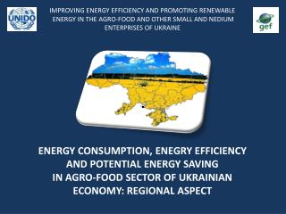 ENERGY CONSUMPTION, ENEGRY EFFICIENCY AND POTENTIAL ENERGY SAVING IN AGRO-FOOD SECTOR OF UKRAINIAN ECONOMY: REGIONAL AS