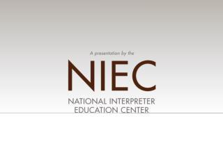 Training & Engagement in Vocational Rehabilitation Interpreting