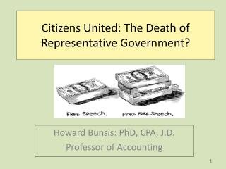Citizens United: The Death of Representative Government?