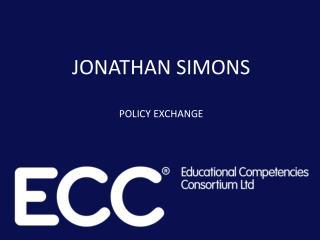 JONATHAN SIMONS POLICY EXCHANGE