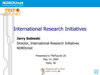 International Research Initiatives