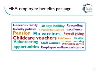 HEA employee benefits package