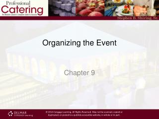 Organizing the Event