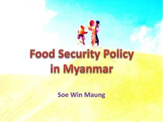 Soe  Win  Maung