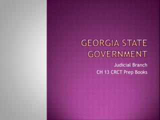 Georgia State Government