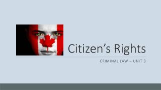 Citizen's Rights