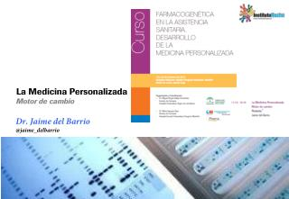 Dr. Jaime del Barrio @ jaime_delbarrio