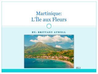 Martinique: L'Île aux  Fleurs