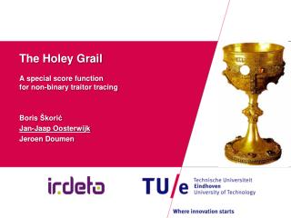 The Holey Grail A special score function  for non-binary traitor tracing