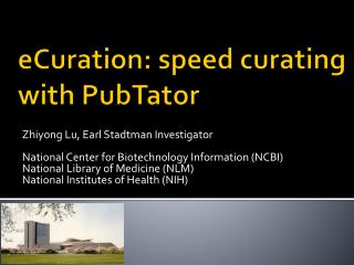 eCuration : speed curating with PubTator
