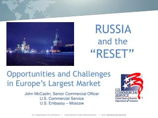 """RUSSIA and the """"RESET"""""""