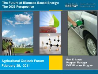 The Future of Biomass-Based Energy: The DOE Perspective