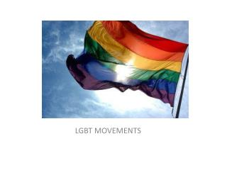 LGBT MOVEMENTS