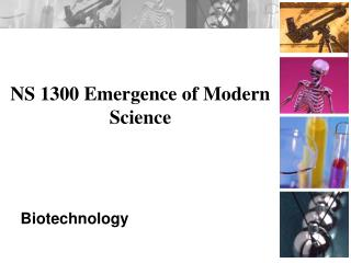 NS 1300 Emergence of Modern Science