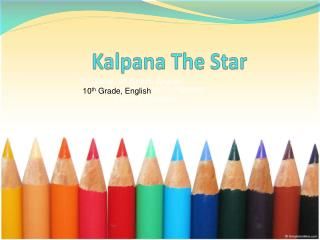 Kalpana  The Star
