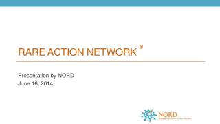 Rare Action network  �