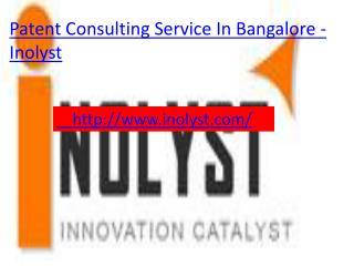 patent consultant service in banaglore