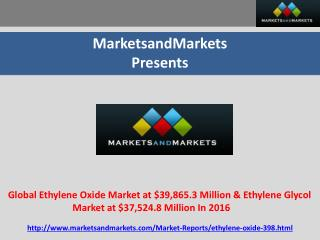 MarketsandMarkets  Presents