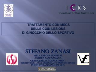 TRATTAMENTO  CON MSCS DELLE COIN LESIONS DI GINOCCHIO DELLO SPORTIVO