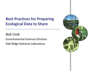 Best Practices for Preparing Ecological Data to Share
