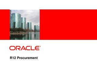 r12 procurement