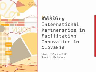 Building International Partnerships  in  Facilitating Innovation in  Slovakia