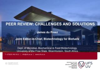 Peer Review: Challenges and Solutions