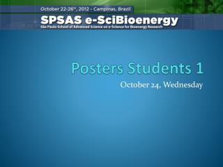 Posters Students  1