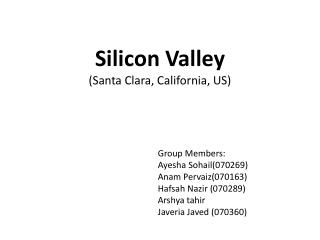 Silicon Valley (Santa Clara, California, US)