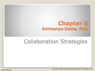 Chapter  8 Avimanyu Datta , PhD