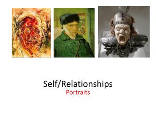 Self/Relationships