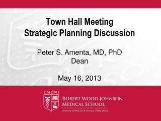 Town Hall Meeting Strategic Planning Discussion
