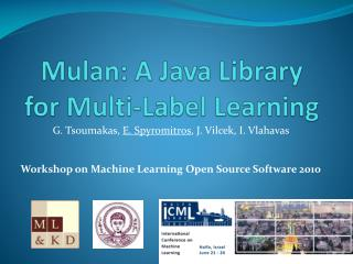 Mulan : A Java Library for Multi-Label Learning