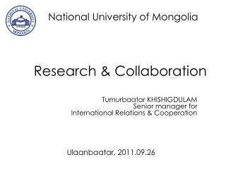Research & Collaboration