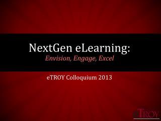 eTROY Colloquium 2013