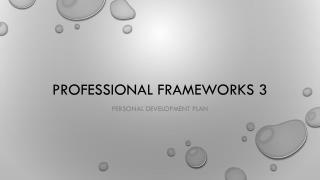 Professional Frameworks 3