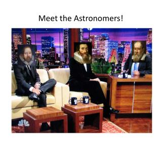 Meet the Astronomers!
