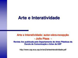 Arte e Interatividade