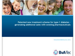 Patented new treatment scheme for type-1 diabetes – generating additional sales with existing pharmaceuticals