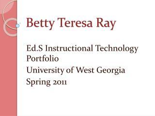 Betty Teresa Ray